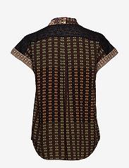 Desigual - CAM PAVIA - overhemden met korte mouwen - caqui - 1