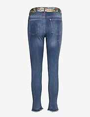 Desigual - DENIM RAINBOW - jeans skinny - denim dark blue - 1