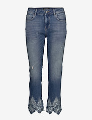 Desigual - DENIM HAWIBI - straight jeans - denim medium wash - 0