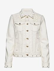 Desigual - CHAQ BARROC - vestes en jean - blanco - 0