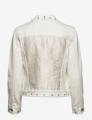 Desigual - CHAQ BARROC - vestes en jean - blanco - 1