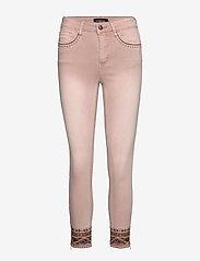 Desigual - PANT AFRI - jeans slim - rosa palo - 0