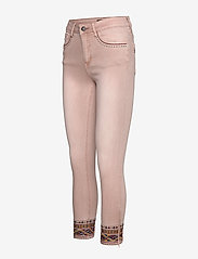 Desigual - PANT AFRI - slim jeans - rosa palo - 2