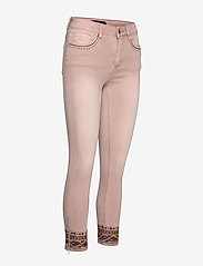 Desigual - PANT AFRI - jeans slim - rosa palo - 3