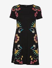 Desigual - VEST DALLAS - korte jurken - negro - 0