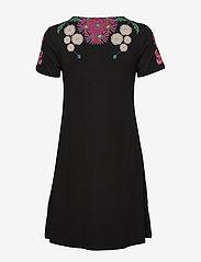 Desigual - VEST DALLAS - korte jurken - negro - 1