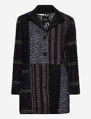 Desigual - ABRIG HAAKON - wool jackets - negro - 0