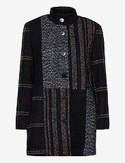 Desigual - ABRIG HAAKON - wool jackets - negro - 1