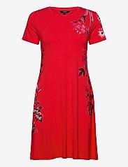Desigual - VEST CAROLINE - korte jurken - carmin - 0