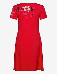 Desigual - VEST CAROLINE - korte jurken - carmin - 1
