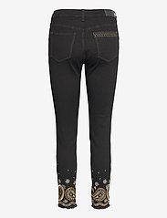 Desigual - DENIM BELGICA - skinny jeans - negro - 1