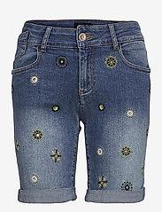 Desigual - DENIM GRECIA - jeansshorts - denim medium wash - 0