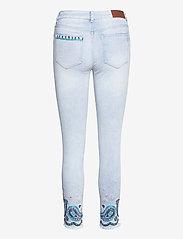 Desigual - DENIM ANKLE PAISL - skinny jeans - denim bleach - 1