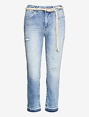 Desigual - DENIM PONDI - raka jeans - denim medium light - 0