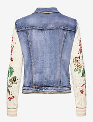 Desigual - CHAQ ATHLAS - jeansjackor - denim medium dark - 1