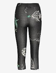 Desigual - LEGGING BOTANIC - leggings - negro - 1