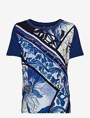 Desigual - TS PALS - t-shirts - estate blue - 0