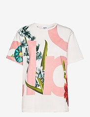 Desigual - TS DSGL - t-shirts - blanco - 0