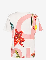 Desigual - TS DSGL - t-shirts - blanco - 1