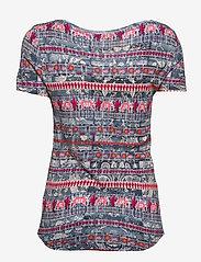 Desigual - TS SANTORINI - t-shirts - petroleo - 1