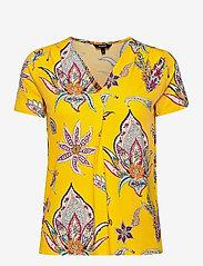 Desigual - TS LEMARK - t-shirts - amarillo canario - 0