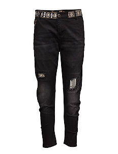 DENIM CAMEL BOYFRI - BLACK DENIM