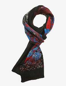 SCARF SEQUINFLOWER - NEGRO