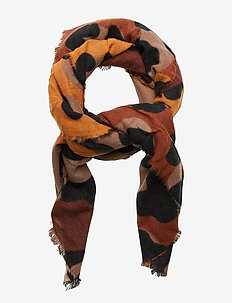 SCARF ANIMAL - CHOCOLATE BROWN