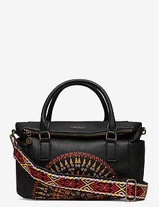 BOLS AFRICAN MANDALA LOVE - handbags - negro