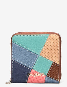 MONE CENTAURI ZIP SQUARE - wallets - camel