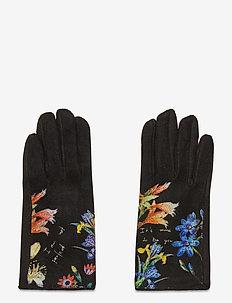 GLOVES FLOWERISH - hansker - negro