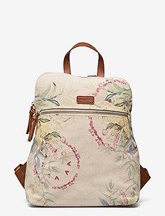BACK CALLIE NANAIMO - ryggsäckar - crudo beige