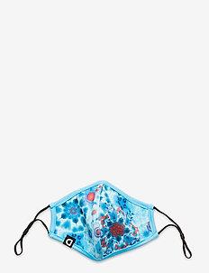 MASK TIE DYE - ansiktsmasker - azul agua