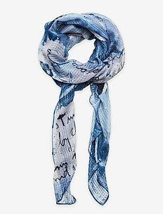 FOU ART PICTURE - sjaals - azul tinieblas