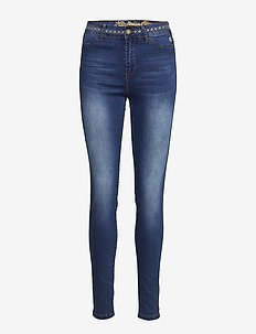 DENIM GEWN - jeans slim - denim medium dark