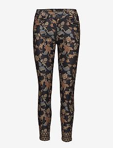 PANT PEONY - jeans skinny - negro
