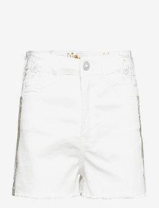 CHAQ ÉVORA - bermudas - jeans white