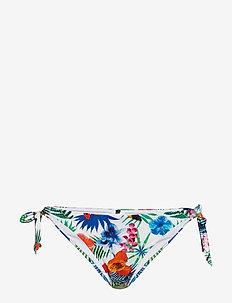BIKI LEOPARD B - bikini bottoms - blanco