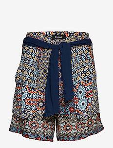 PANT SHASA - casual shorts - marino