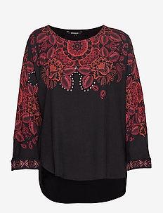 BLUS LUMBE - blouses à manches longues - negro