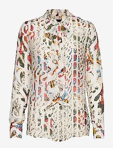 BLUS LUA - long sleeved blouses - crudo