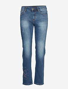 DENIM SANFORD - straight jeans - denim dark blue