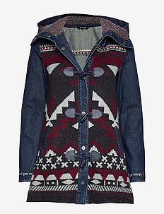 CHAQ NAVAI - denim jackets - denim dark blue
