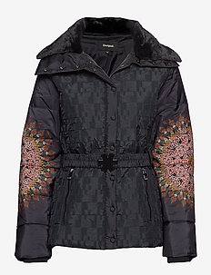 PADDED AGGU - quilted jackets - negro