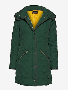 PADDED LEICESTER - quilted jackets - emerald