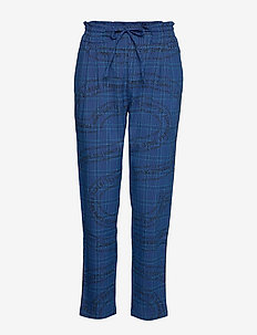 PANT TURIN - straight leg trousers - royal blue