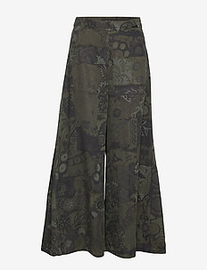 PANT GIA - uitlopende broeken - boaba