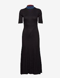 VEST LAUREN - maxi jurken - negro