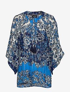 BLUS ATENAS - blouses à manches longues - azul dali