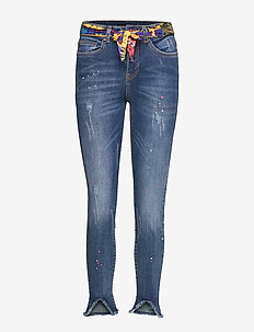DENIM RAINBOW - skinny jeans - denim dark blue